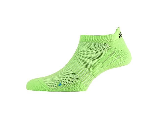 P.A.C. SP 1.0 Footie Active Short Socks Men neon green